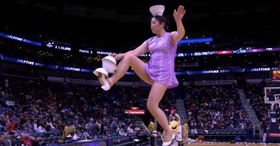Famed Halftime Acrobat Red Panda Is 'Heartbroken' After Her $25,000 Unicycle Was Stolen
