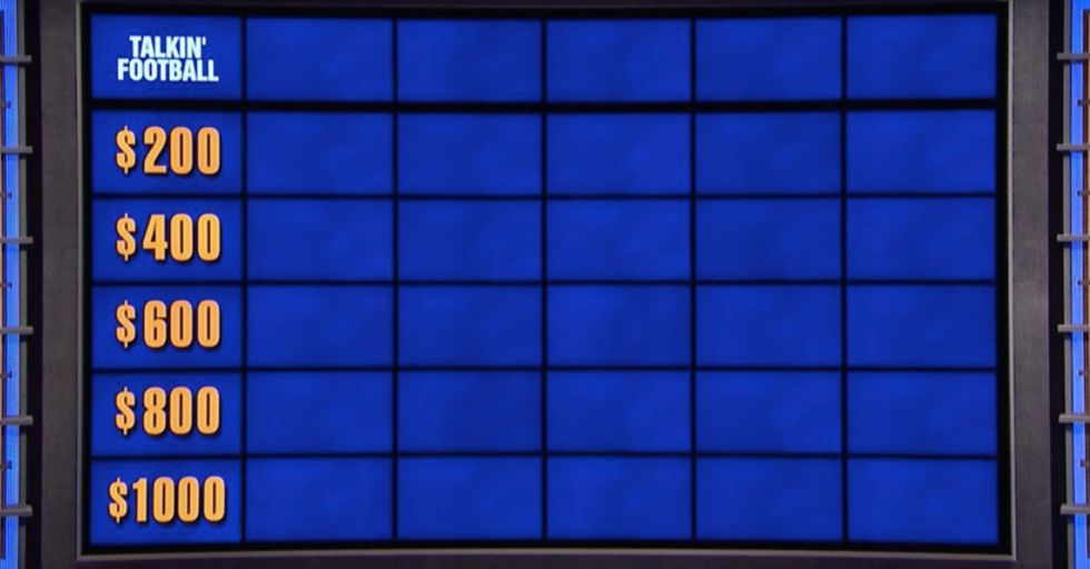 Even Casual Fans Can Answer These 5 Football Questions That Jeopardy Contestants Couldn't