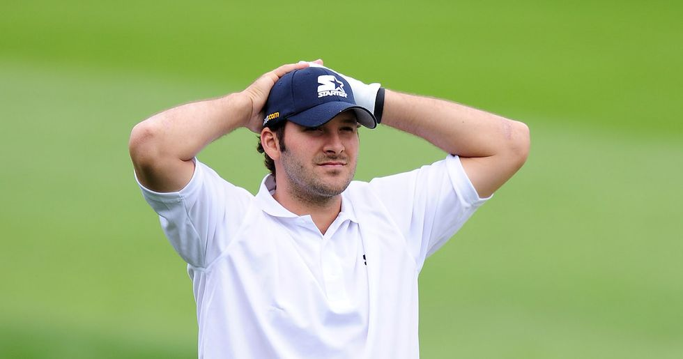 Tony Romo Put On His Broadcasting Hat During A Golf Round, Announcing His Own Play