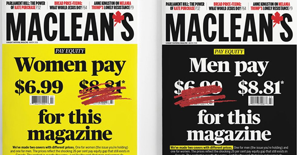 A Magazine Is Charging Men And Women Different Amounts For A Great Reason