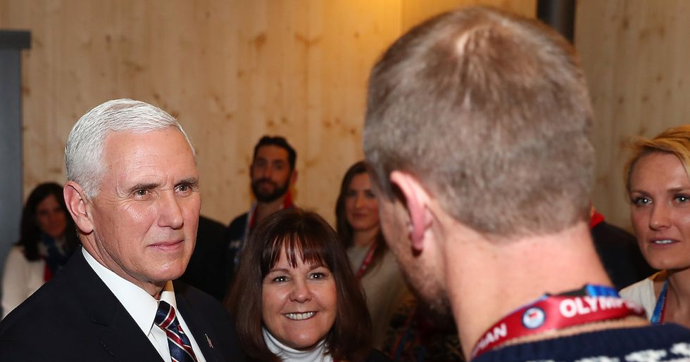 Mike Pence Got Very Defensive With His 'Support' Of An Openly Gay Team USA Skater
