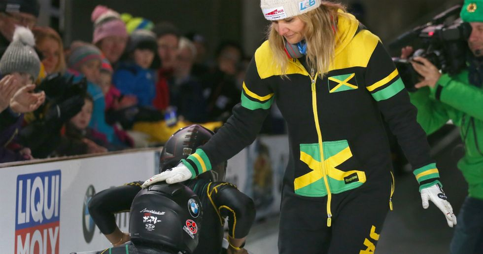 Jamaica's Bobsled Team In Crisis As Coach Quits And Threatens To Take The Sled With Her