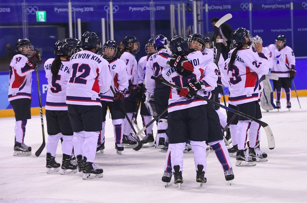 The Unified Korean Women's Hockey Team On Its Historic Moment