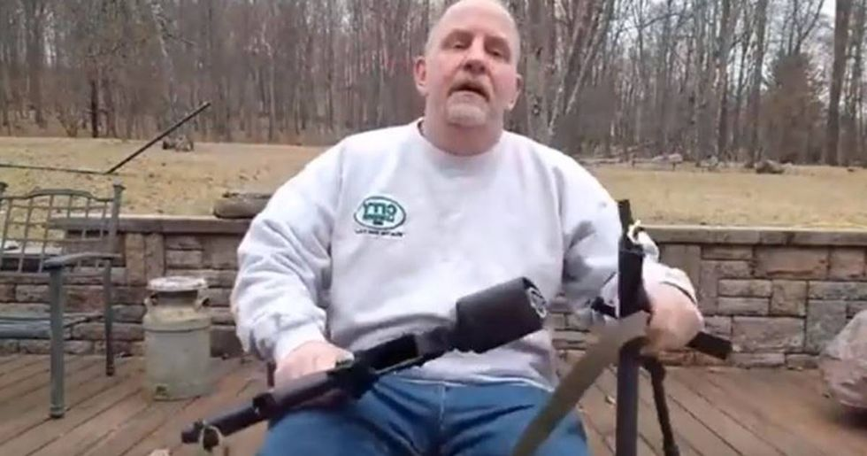 Gun Owner Saws His AR-15 Into Pieces In Viral Facebook Post