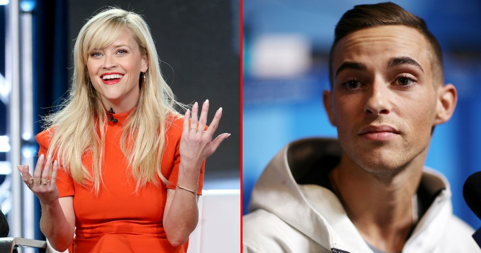 Adam Rippon Would Like To Dedicate His Olympic Medals To Reese Witherspoon