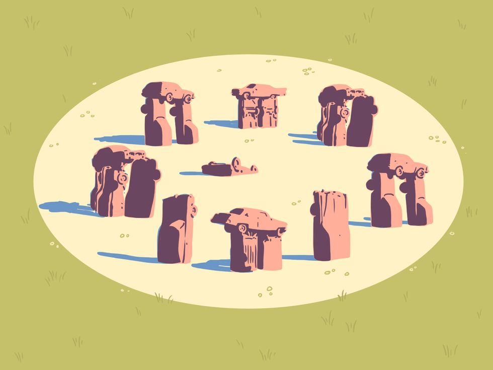 How Stonehenge Replicas Became The World's First Meme