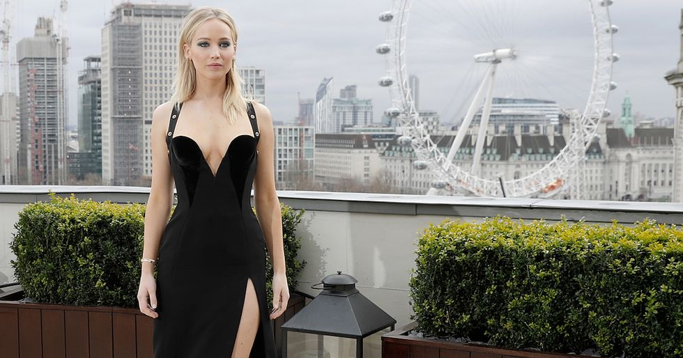 Jennifer Lawrence Defends 'Revealing' Dress After Photos Spark Controversy