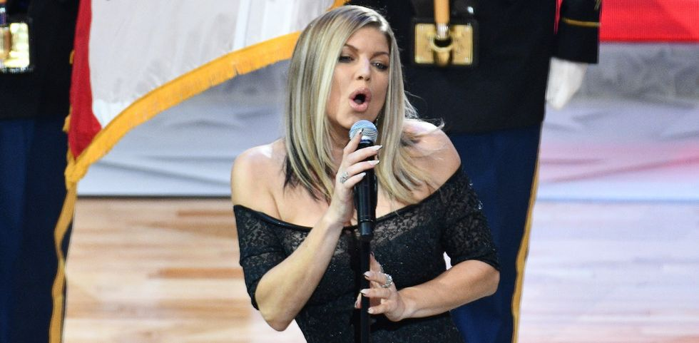 Fergie Has Explained Her Historically Bad National Anthem Performance, Calling It A 'Risk'