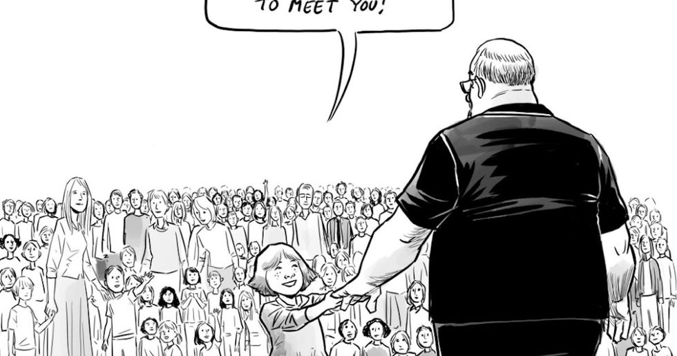 This Cartoon About The Parkland School Shooting Paints A Moving Portrait Of A Fallen Hero