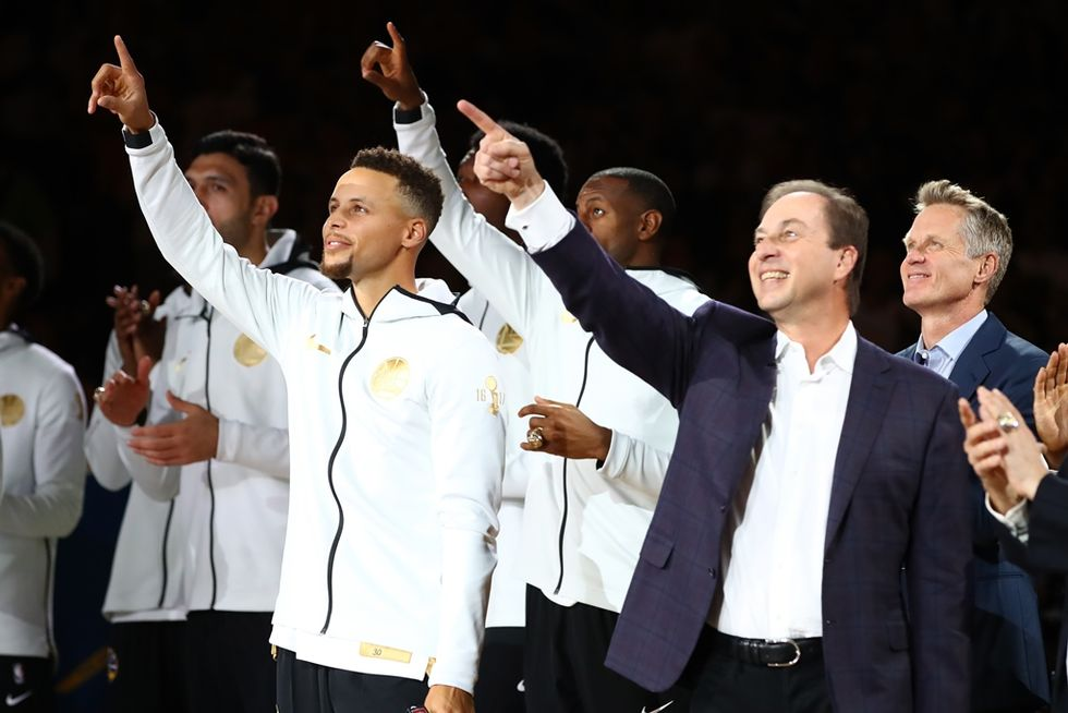Here's What The Golden State Warriors Did Instead Of Visiting The White House