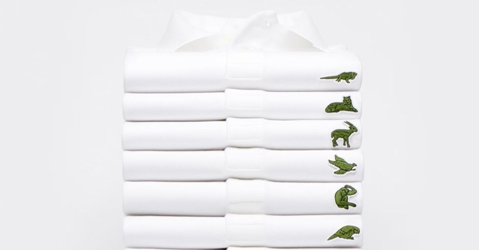 Lacoste Replaces Its Iconic Alligator Logo With 10 Endangered Species