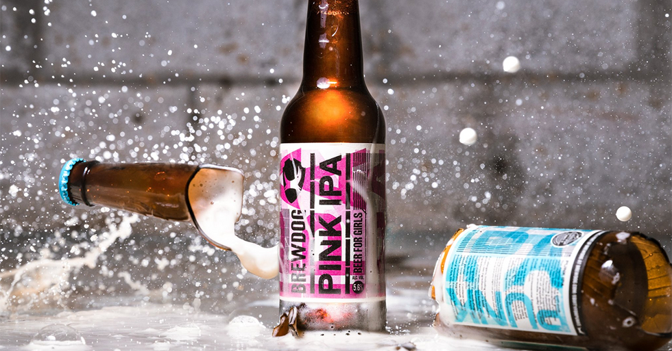 Brewery uses 'Beer for Girls' to mock the parade of ridiculous tactics marketing to women.