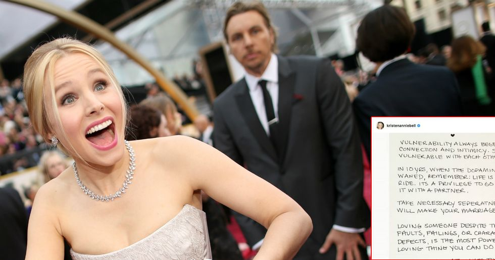 Kristen Bell Shares Relationship Advice She's Learned Over 11 Years With Dax Shepard