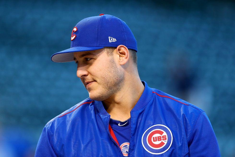 Chicago Cubs Player Attends Candlelight Vigil After Shooting At Alma Mater
