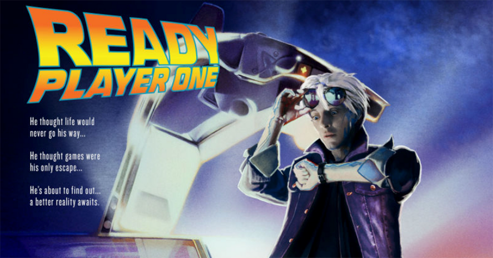 'Ready Player One's Nostalgia-Heavy Posters Have Prompted A Hilarious Backlash