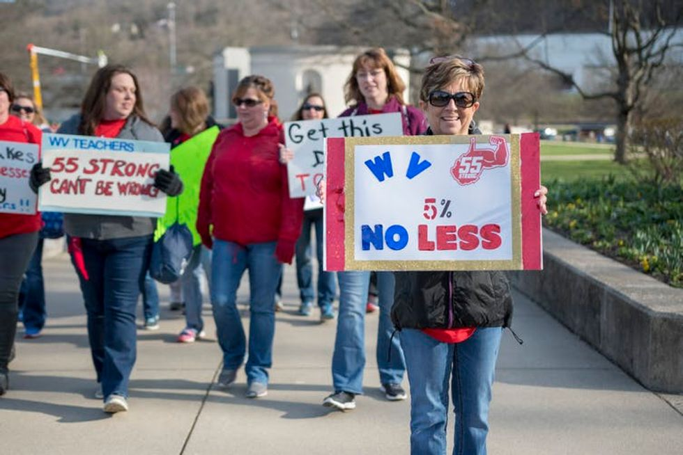 West Virginia Teachers Win Raise – But Nation's Rural Teachers Are Still Underpaid