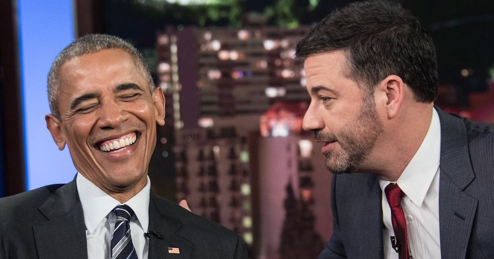 Jimmy Kimmel Responds To President Trump's Oscar Ratings Remark