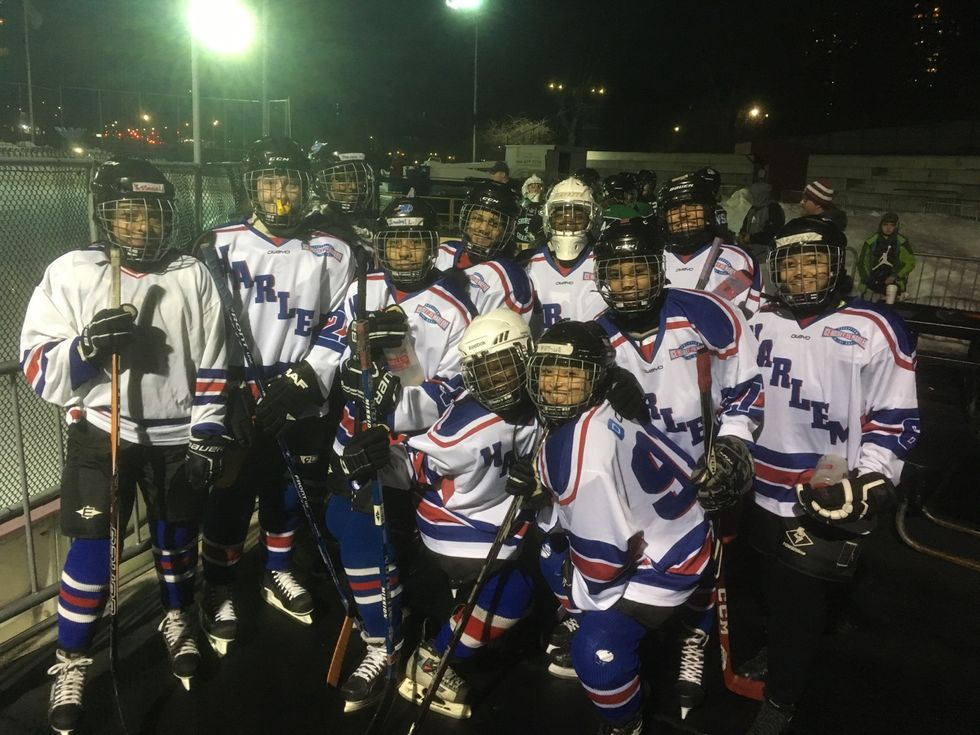 This All-Girl Hockey Team In Harlem Is Changing The Game