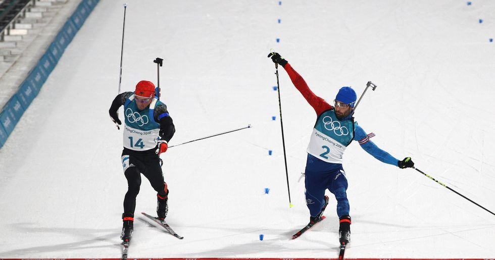 Even With Finish Line Photos, The Public Can't Tell Who Won This Ski Race
