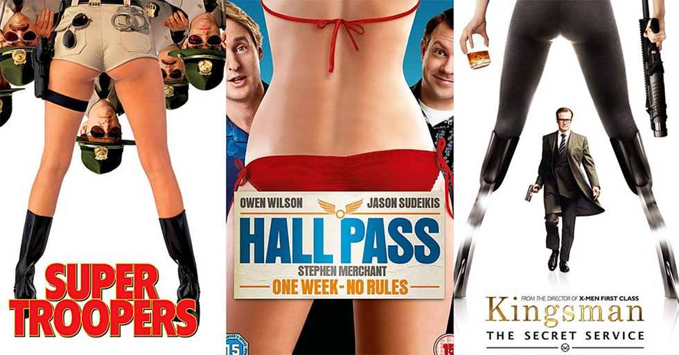 A comedian continues to remind the world that Hollywood posters keep cutting women's heads off.