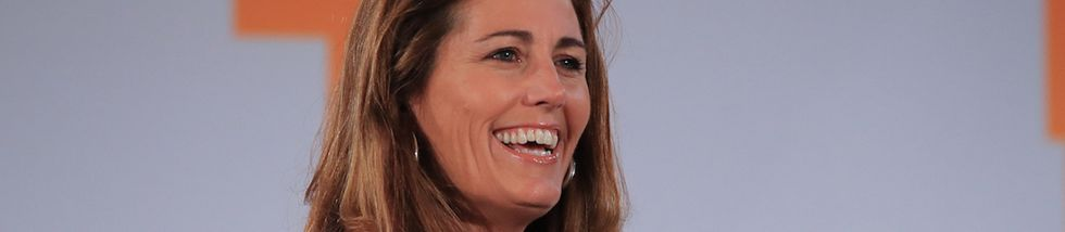 Julie Foudy: 'I'm certain our first female president will have played sports.'
