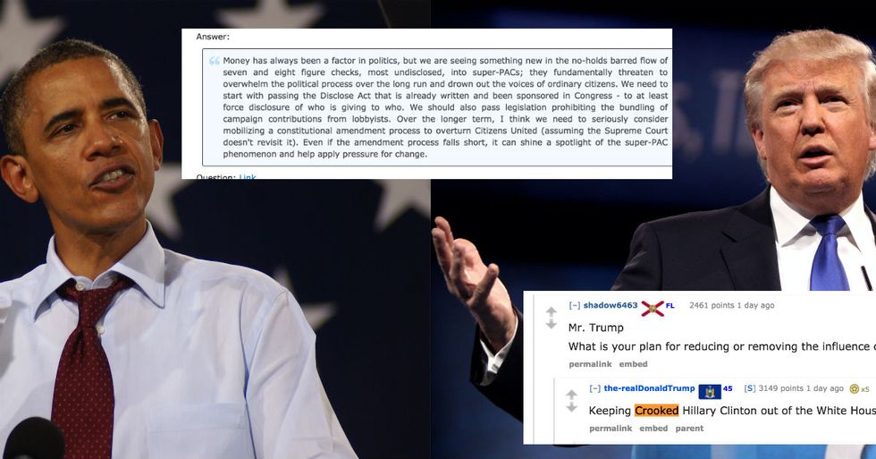 The Difference Between Obama And Trump Perfectly Explained In One Reddit AMA Question