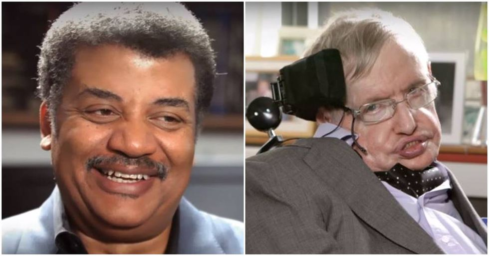 To Celebrate Stephen Hawking's Life, Nat Geo TV Releases An Interview Done Before His Death With Neil DeGrasse Tyson