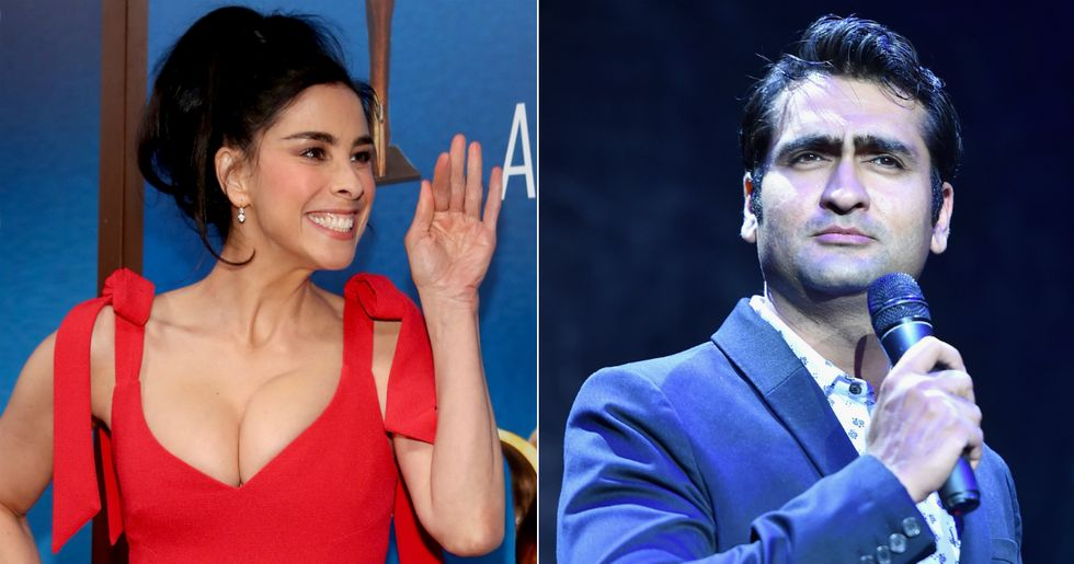 Kumail Nanjiani Said He's Mistaken For Other Actors, Prompting A Very Funny Response From Sarah Silverman