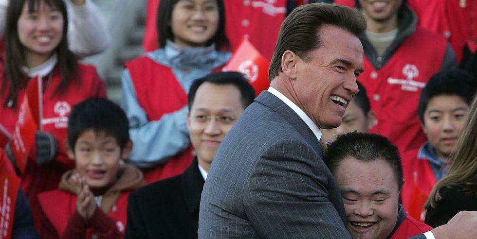 Arnold Schwarzenegger Schools Troll Who Criticized Special Olympians