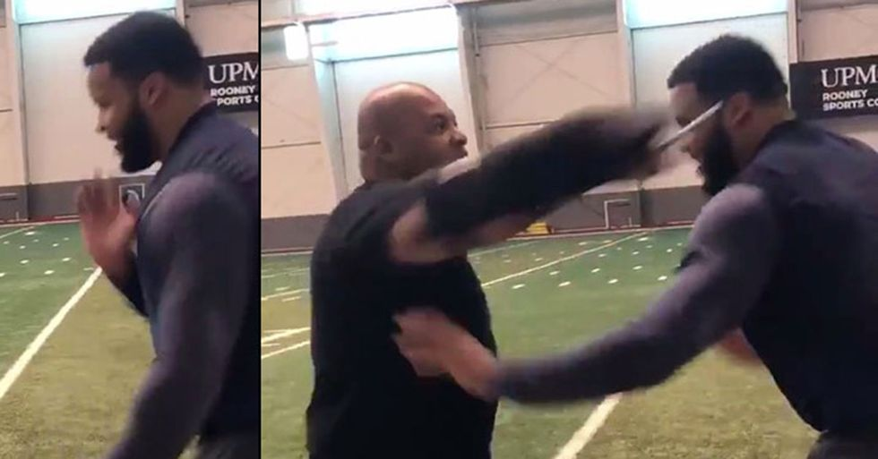 An NFL Star Is Spending His Offseason Fighting Off His Trainer's Knife Attacks