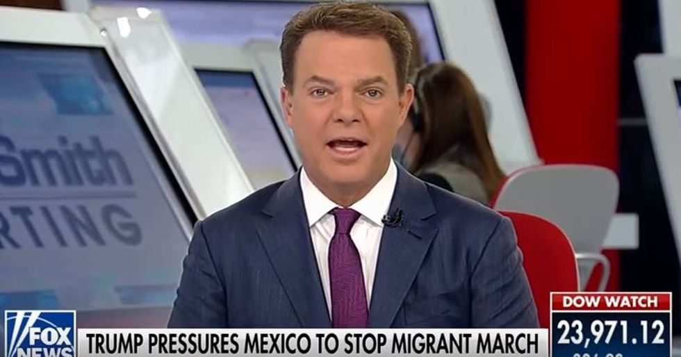 Fox News' Shep Smith Calls Out Trump For Amazon Lie