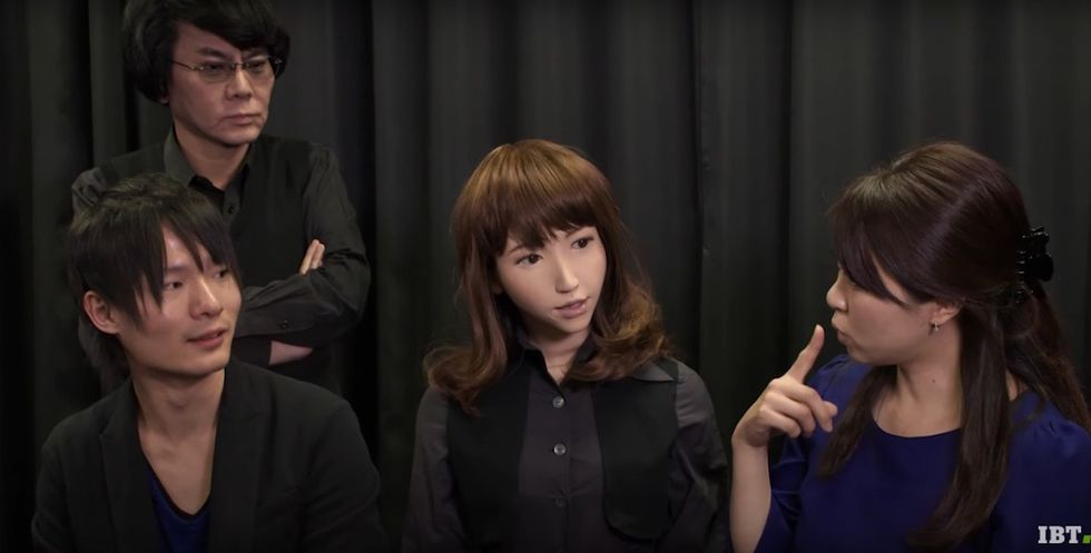 Creepy Japanese Robot 'With A Soul' Will Replace A Human News Anchor