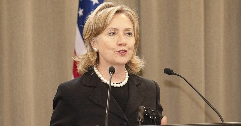 Hillary Clinton Jokes That Fox News Is 'Trying To Impeach Me