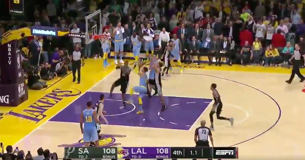 ESPN Cut To Commercial At The Worst Moment During This Very Close NBA Game