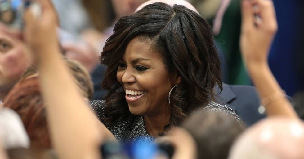 Michelle Obama Says Her Husband's Presidency Was Like Having 'The Good Parent' At Home