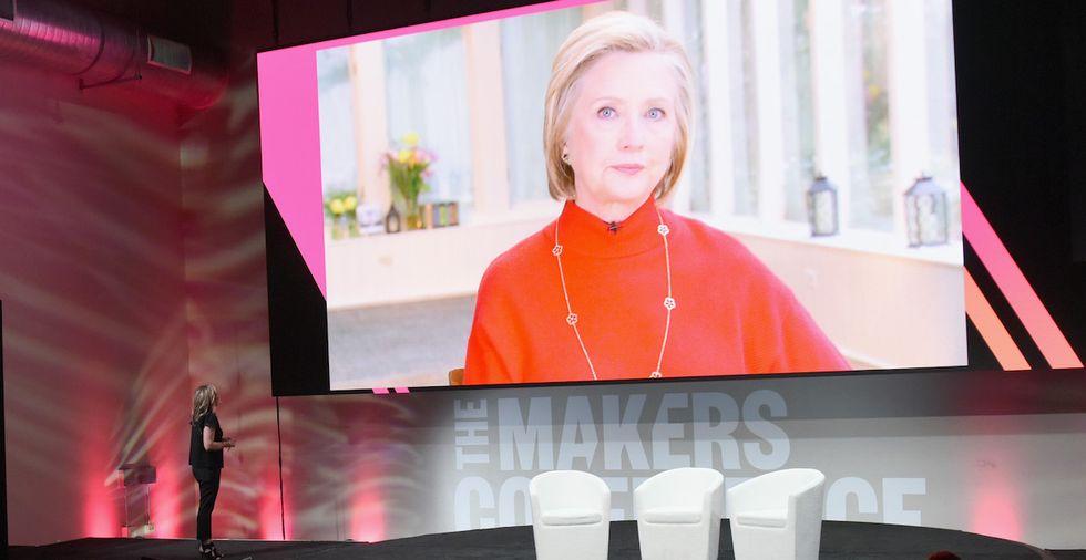 Hillary Clinton Addressed Critics Who Say She Should 'Go Away'