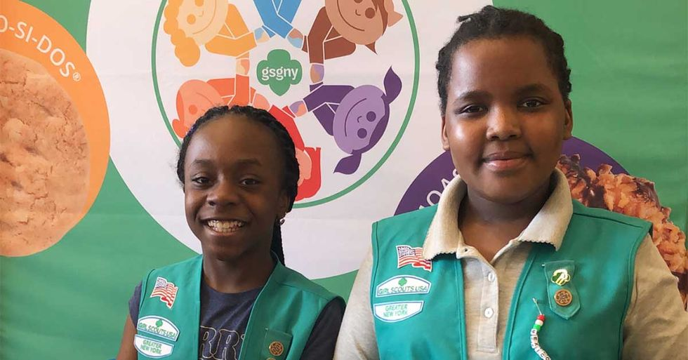 Homeless Girl Scouts In NYC Are Out To Sell 12,000 Boxes Of Cookies
