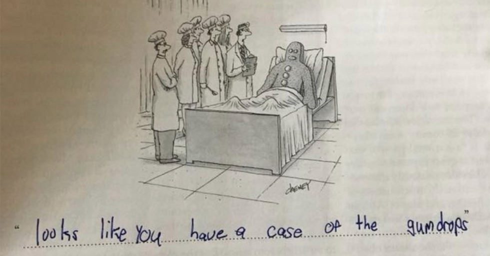 A 9-year-old girl is offering up the absolute best captions for New Yorker cartoons.