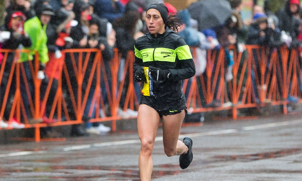 The Boston Marathon's Brutal Conditions Resulted In Slow Times But Historic Wins