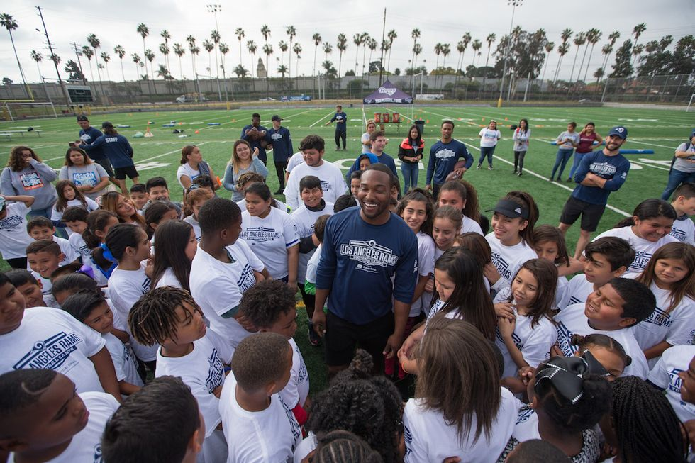 Los Angeles Rams Launch Youth Clinics That Focus On Character Over Football