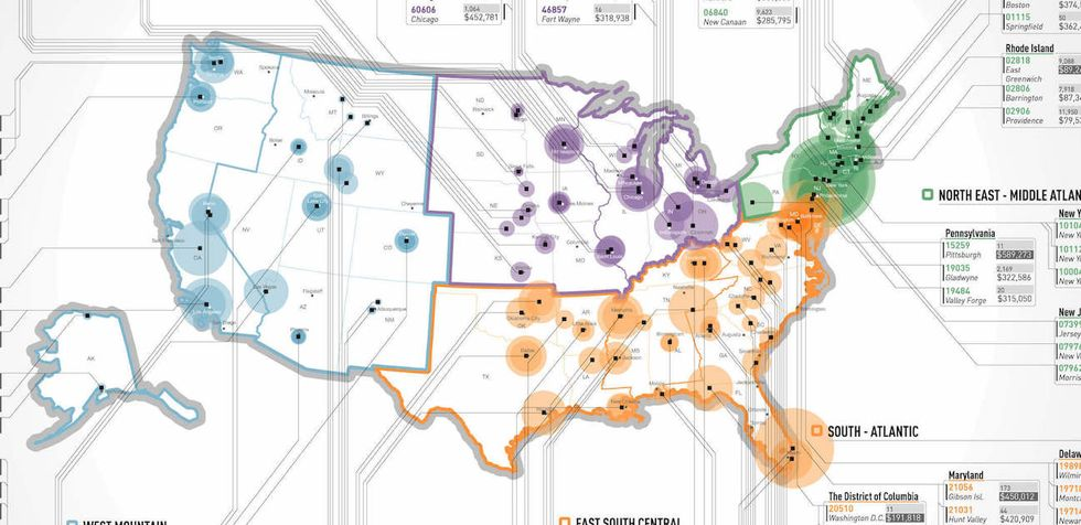 This Interactive Map Reveals The Richest Zip Codes In America