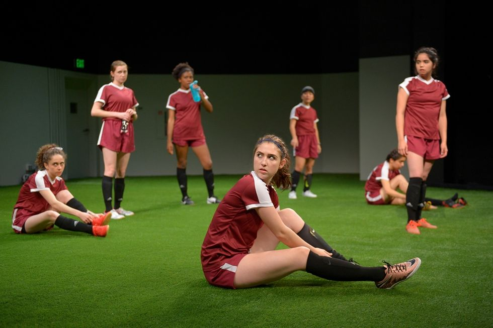 This Play About A Girls Soccer Team Kicks Up The Issues Facing Young Women