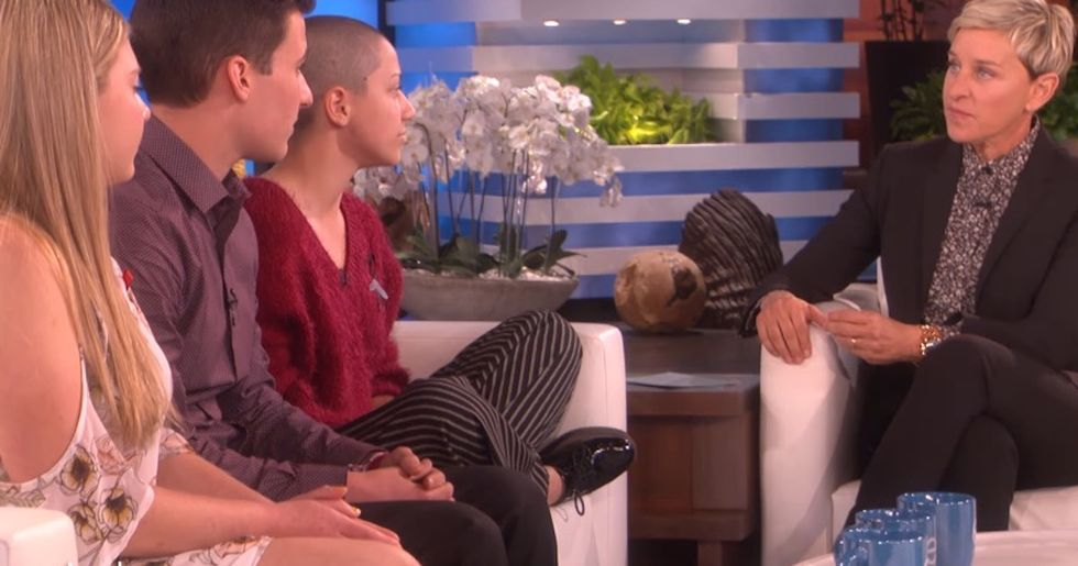 Ellen Uses Her Show To Praise The 'Amazing' Survivors Of The Parkland Shooting