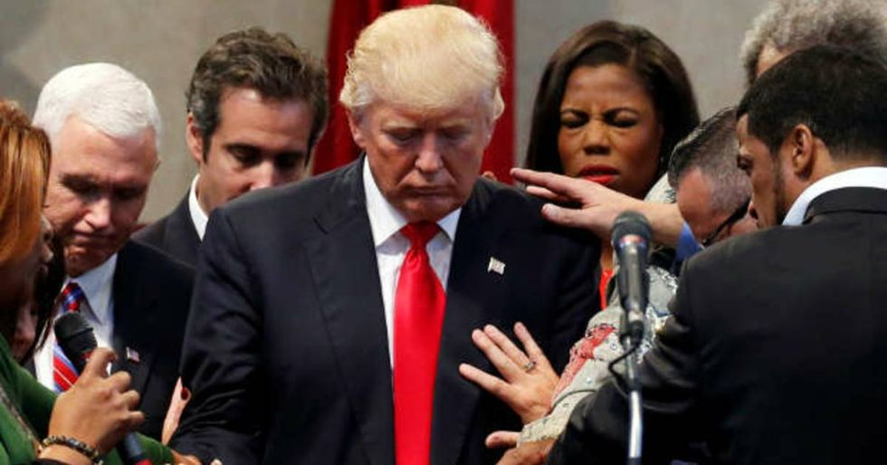 Twitter Skewers Donald Trump For His Hypocritical National Day Of Prayer Address