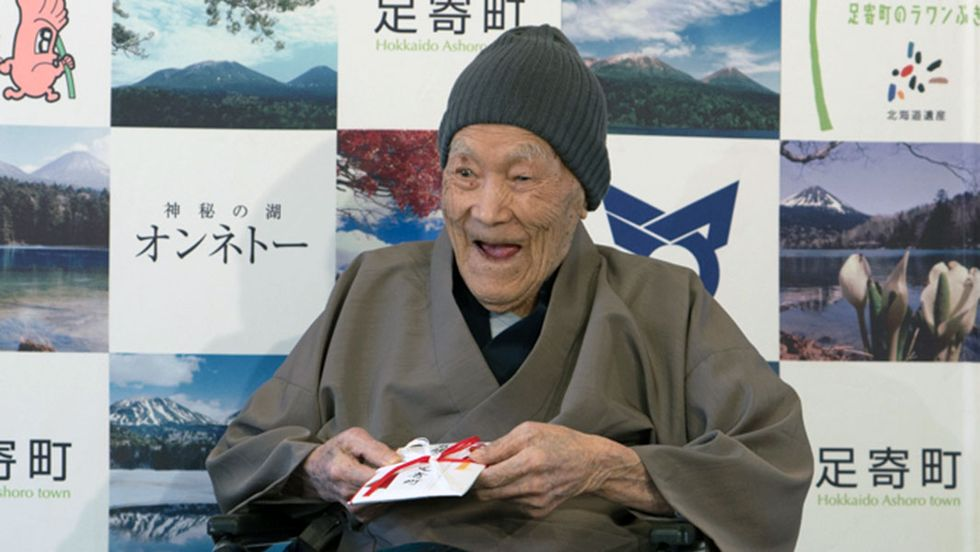 Oldest Man In The World Is 112 And Living His Best Life In Japan