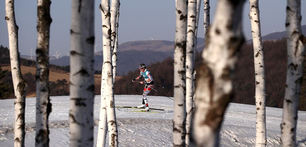 In The Final Event Of The Olympics, A Skier Took A Wrong Turn, Got Lost, And Cost Herself A Medal