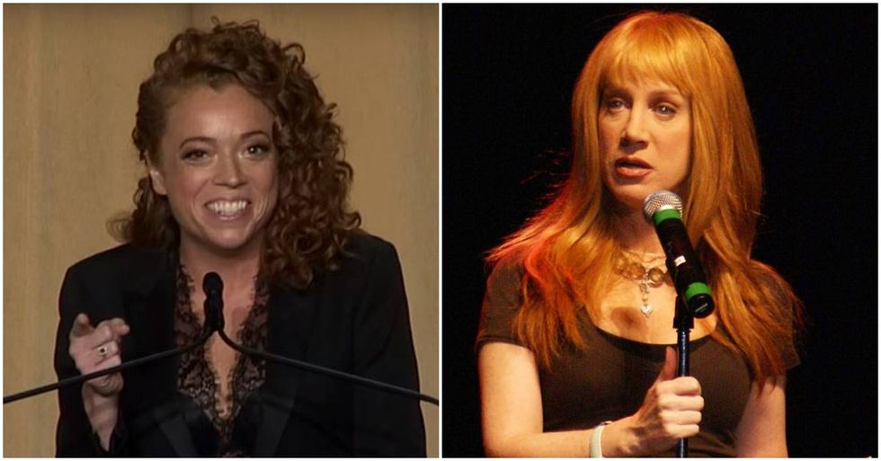 Kathy Griffin Defended Michelle Wolf's Correspondents' Dinner Jokes With An Important Point