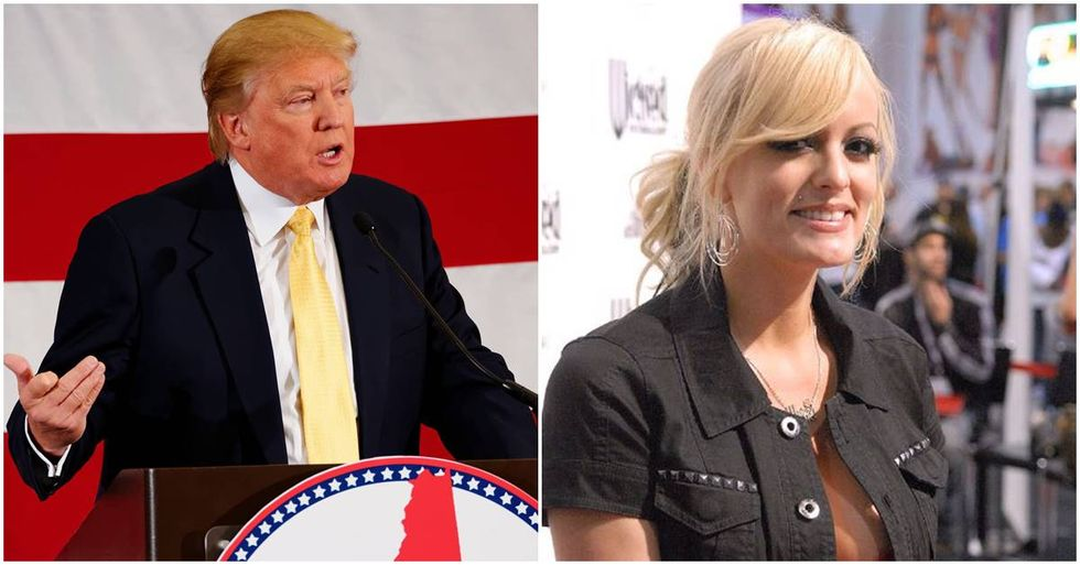 Stormy Daniels Files A Defamation Lawsuit Against Donald Trump In New York Federal Court