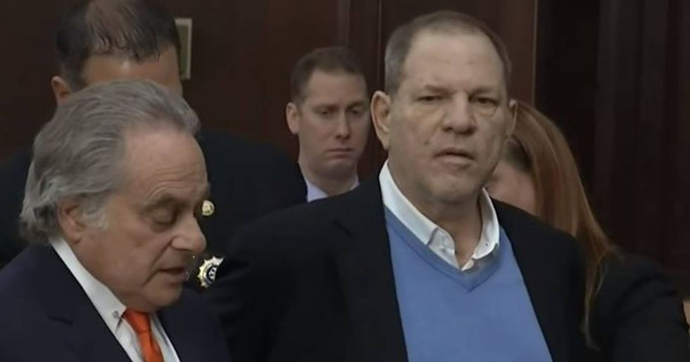Harvey Weinstein Is Arraigned On 2 Counts Of Sexual Abuse