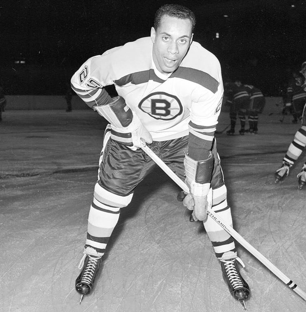 Meet the 'Jackie Robinson of the NHL'